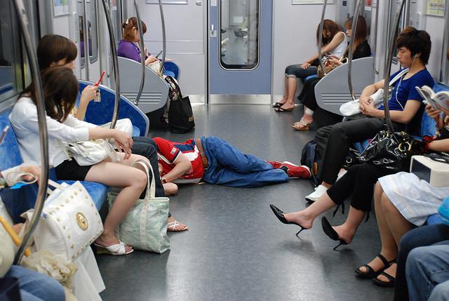 Fatigue dans le métro